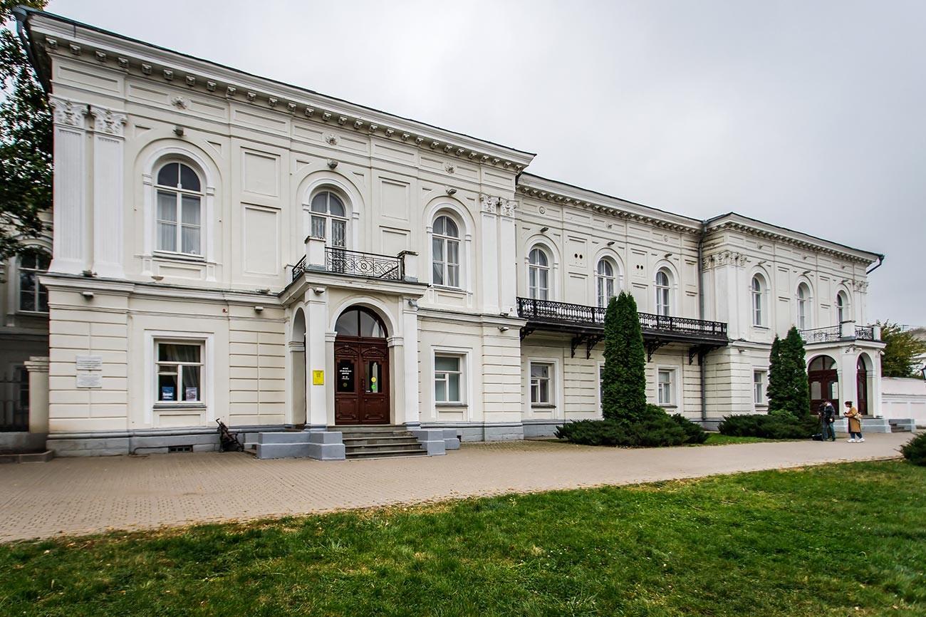 Gedung utama pemerintah Novocherkassk, tempat penembakan terjadi.