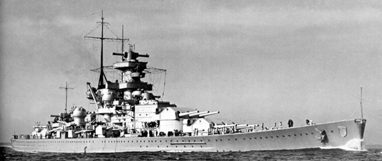 Battleship 'Scharnhorst.'