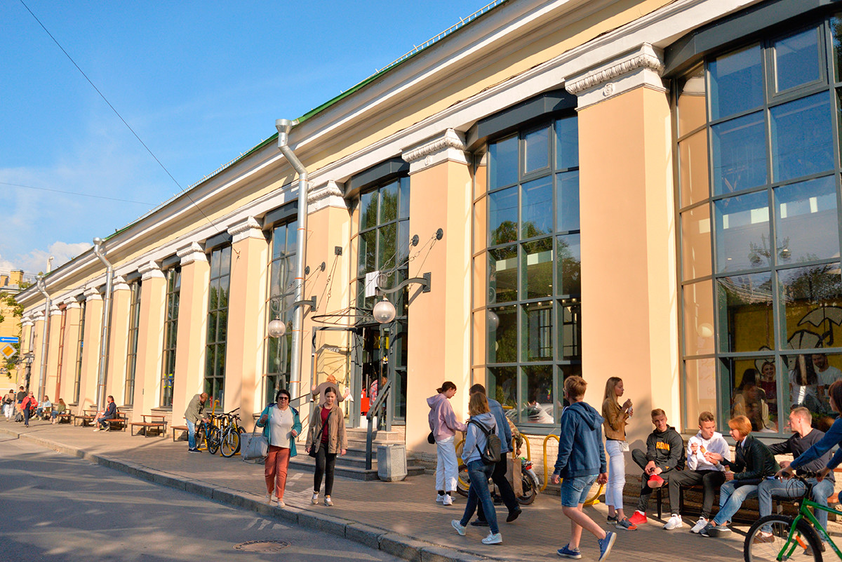 Vasileostrovsky Market