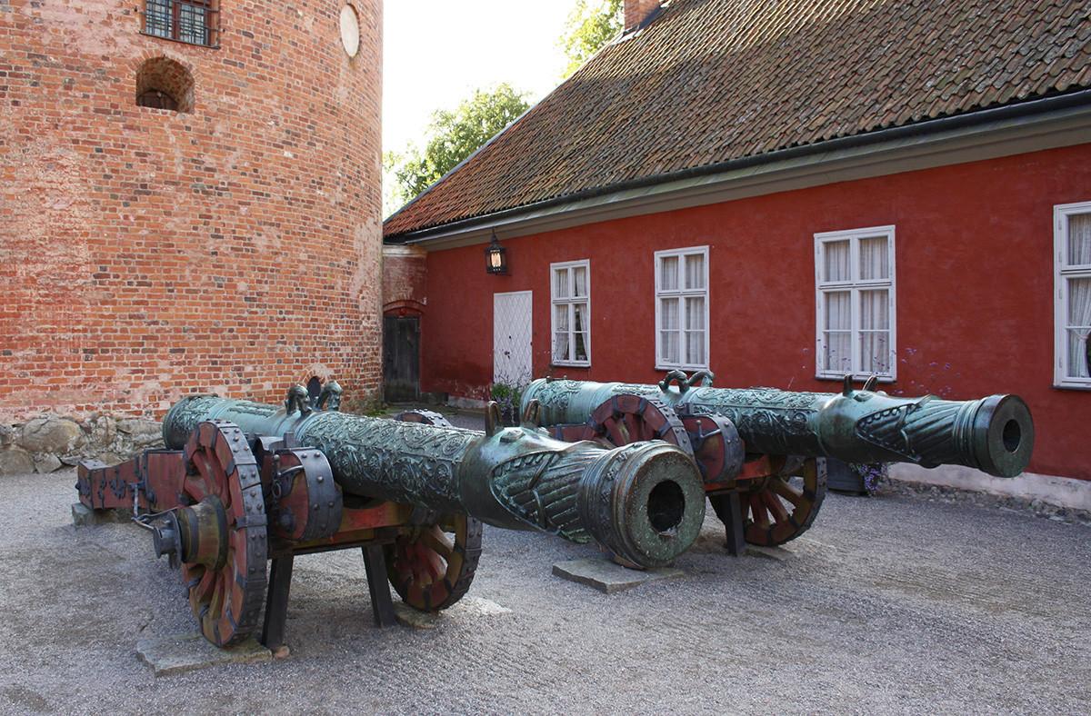 Arquebuse « Volk » du maître Andreï Tchokhov, Suède, Musée du château de Gripsholm