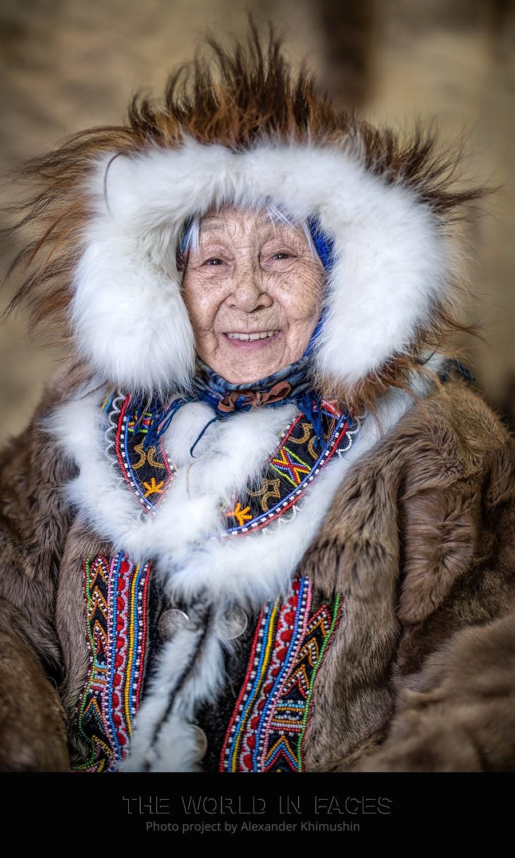 Бабушка народа долганы