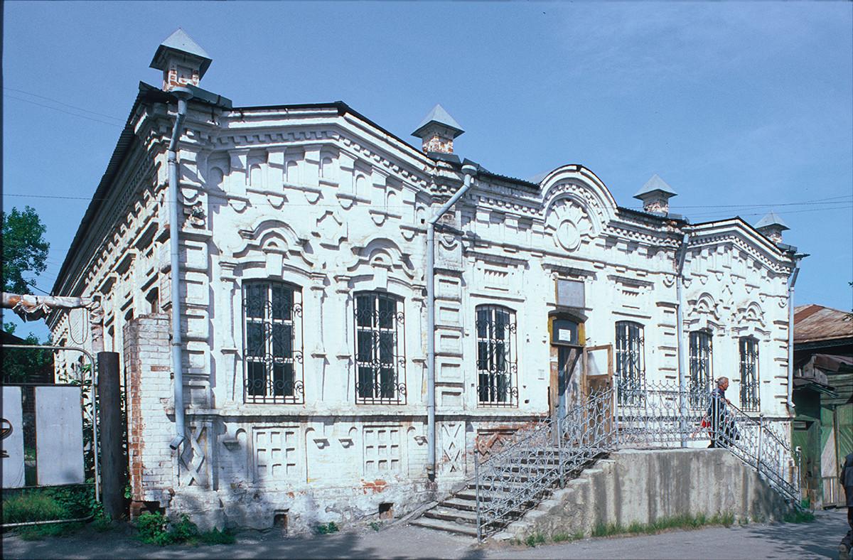 Casa y tienda de finales del siglo XIX, Calle del Proletariado 14. 15 de julio de 2003.