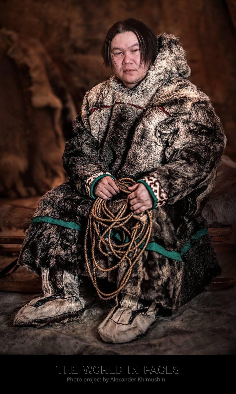 Moški iz ljudstva Enci