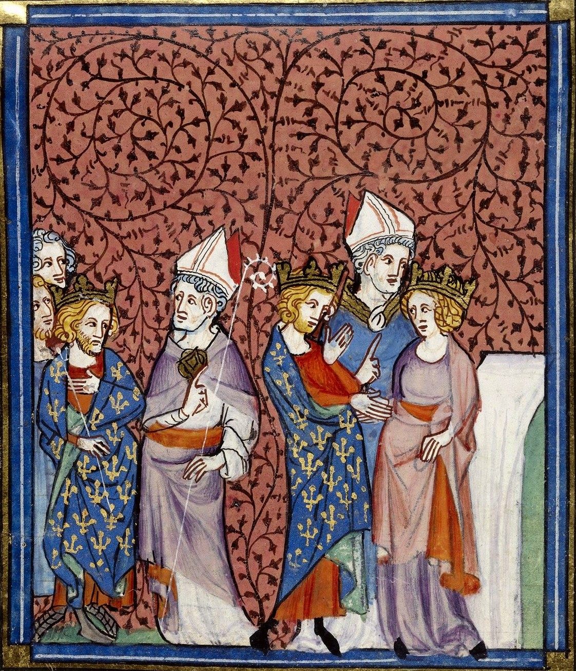 Échange de consentements entre Henri et Anne