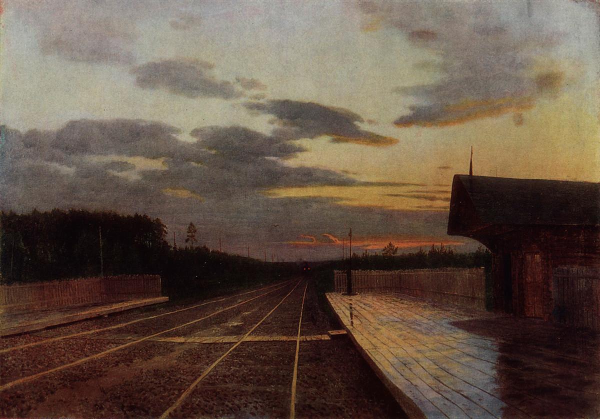 Le soir après la pluie, 1879
