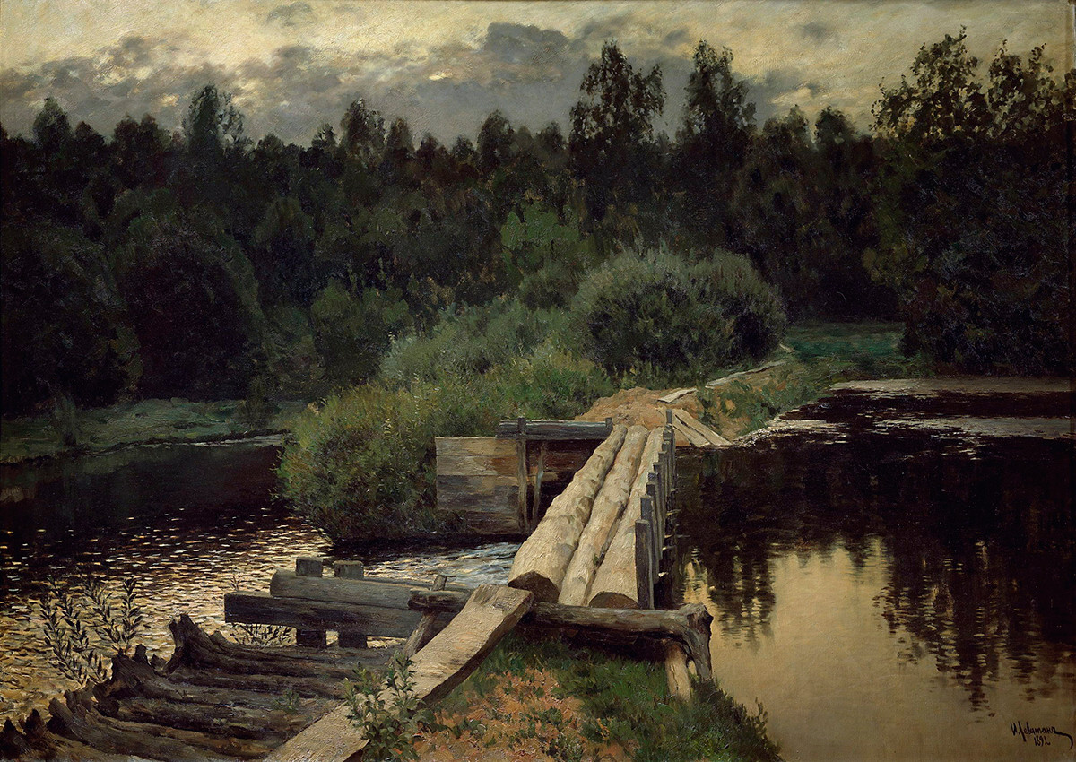 Eaux profondes, 1892