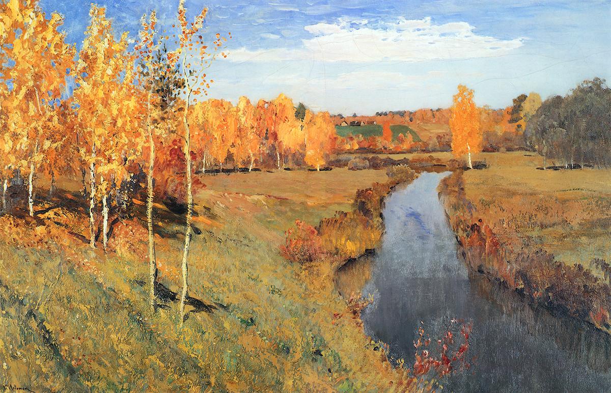 Automne doré, 1895