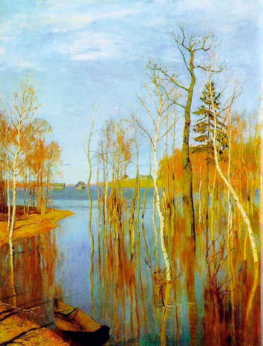 Printemps. Grandes eaux, 1897