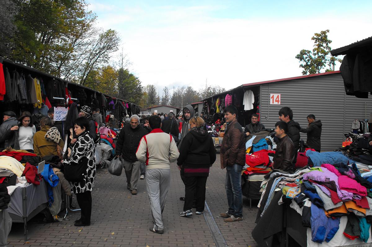 Flohmarkt von Udelnaja