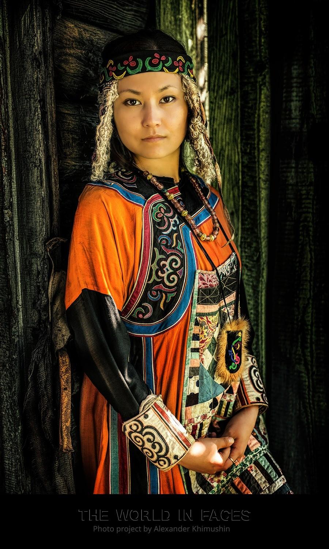 Eine junge Orotschin