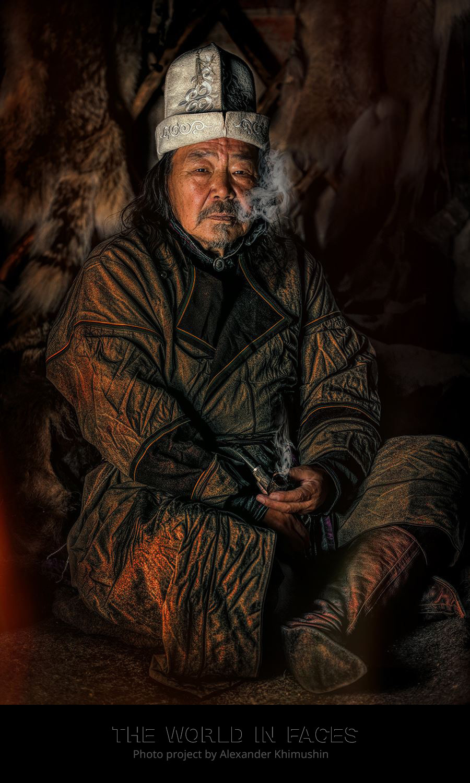 Seorang pria dari Khakassia.