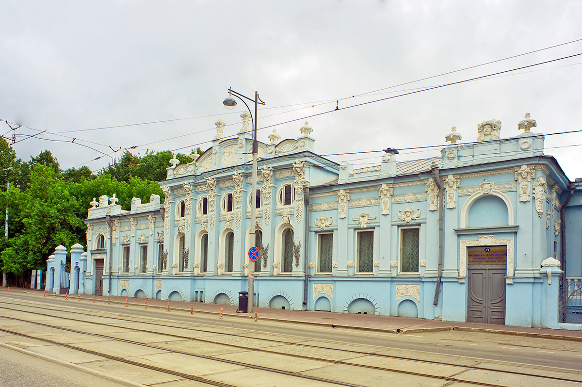 Maison de Sergueï Gribouchine (repeinte)