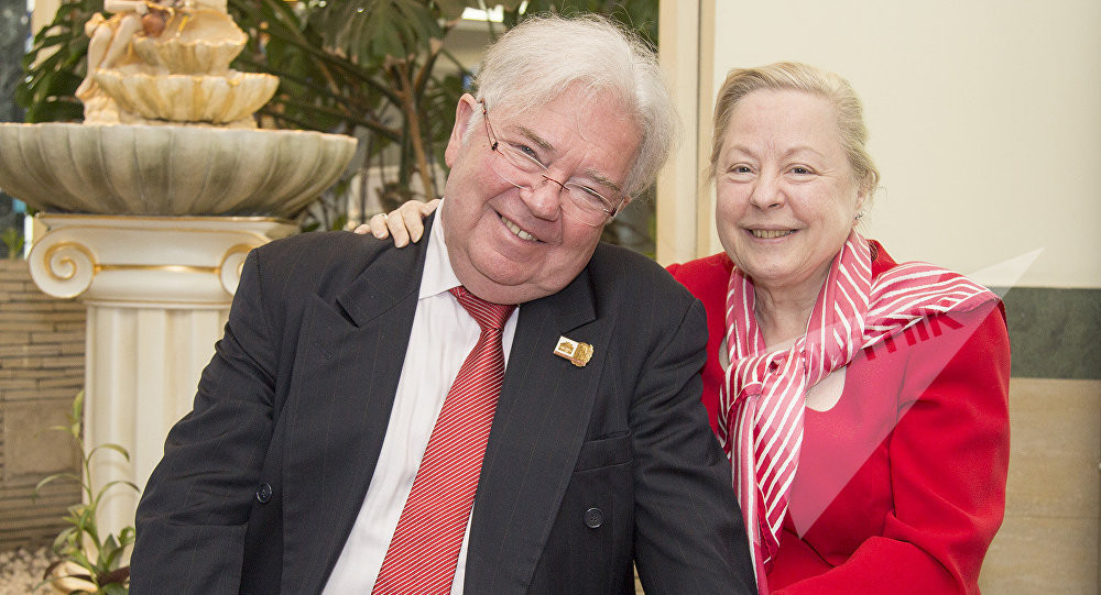 Alexandre Pouchkine et Maria-Madeleine Dournovo