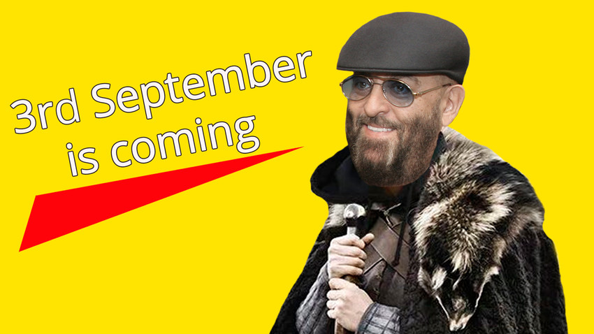 How a Russian song about September 3 became a viral meme ...