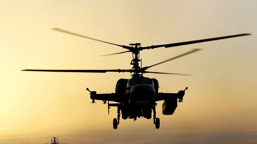 Вертолет Ka-52K
