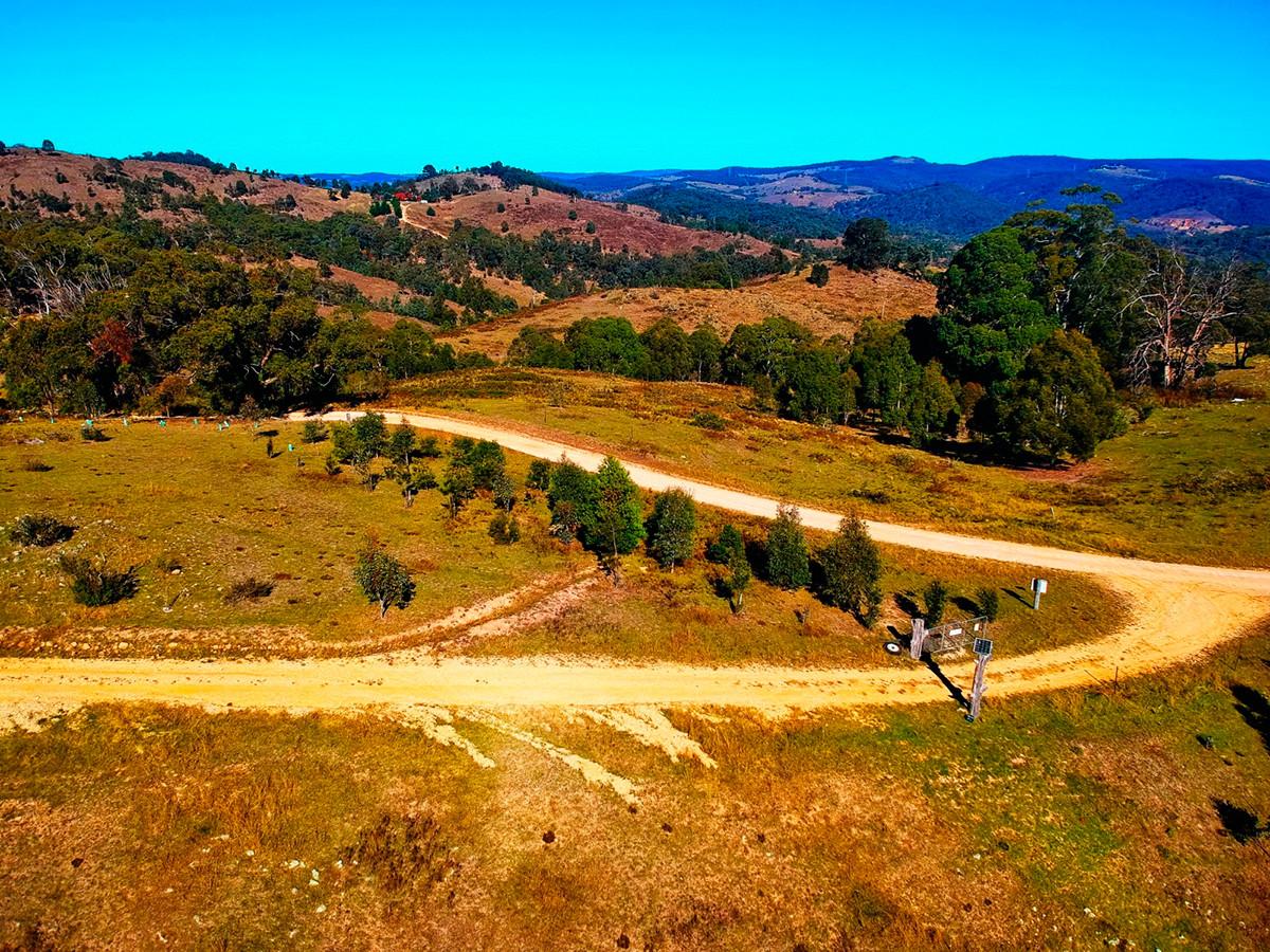 The valley near Vlad's farm.