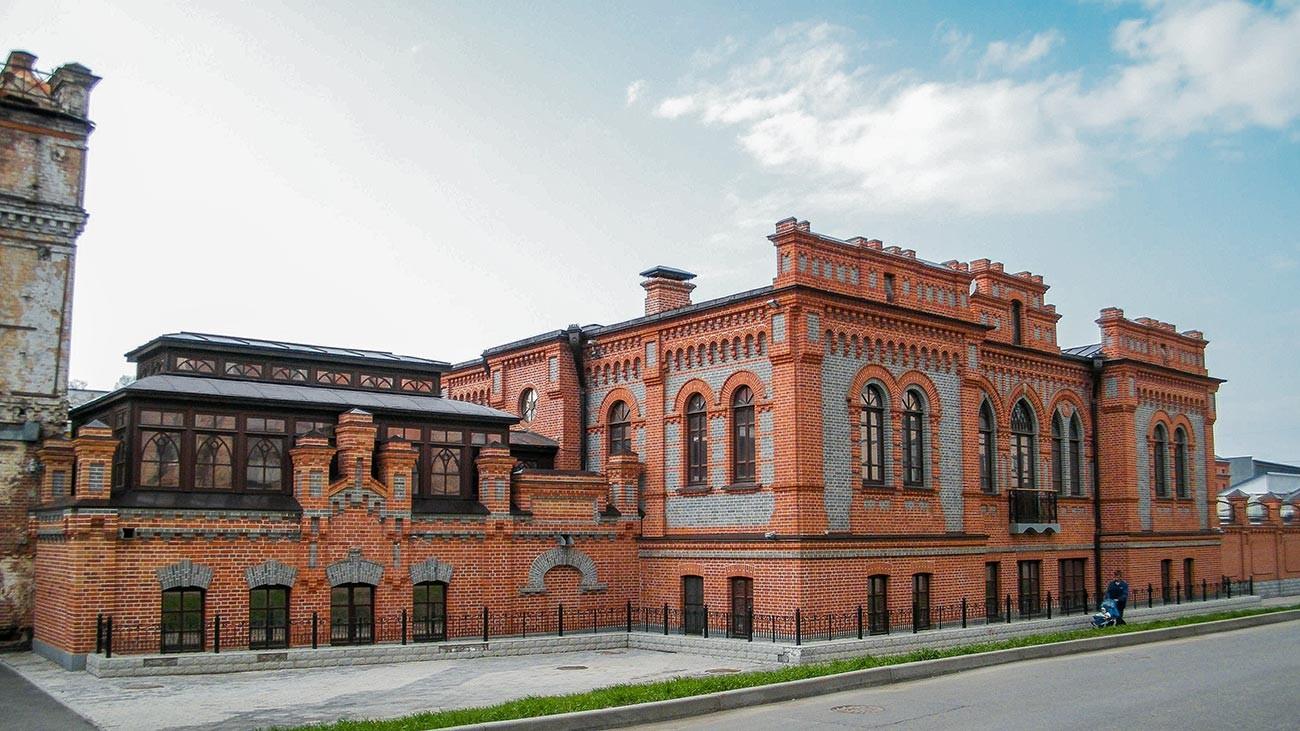 Gli uffici e il negozio di Tifontaj al civico 3 di via Sovetskaja, a Khabarovsk