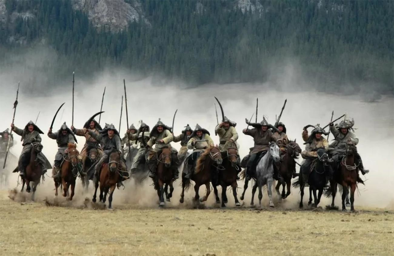 """Кадар из филма """"Монгол"""""""