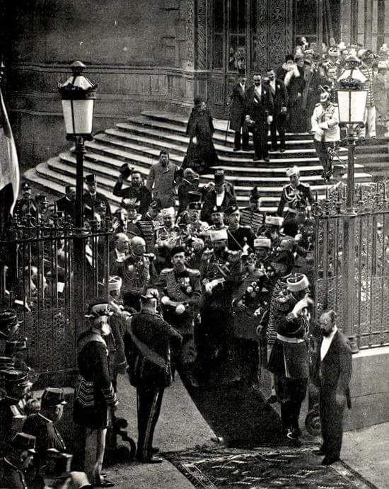 Nicolas II à Paris