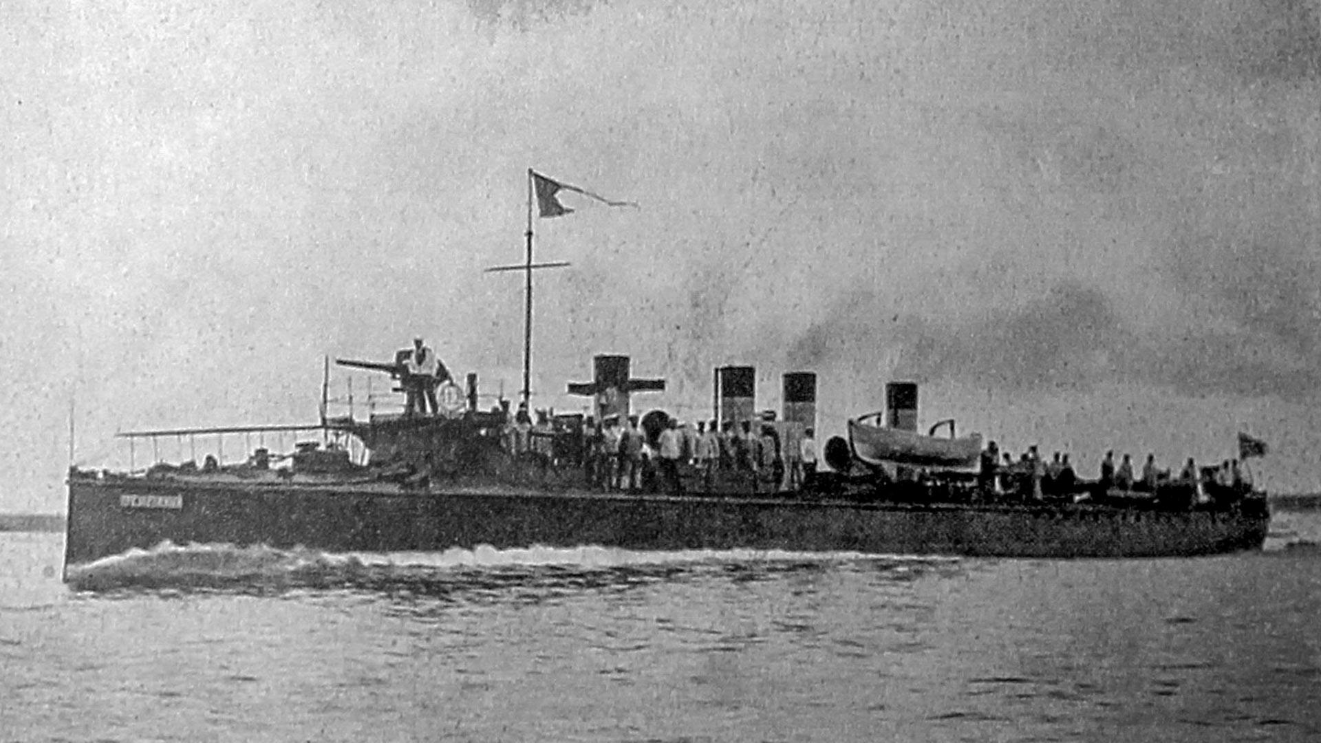 駆逐艦「ステレグーシチイ」
