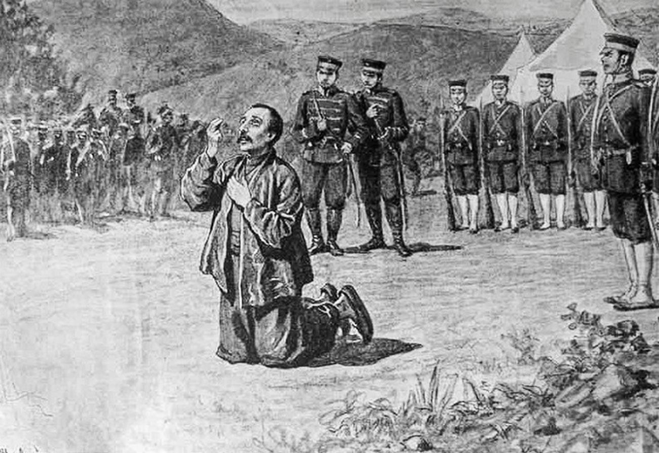 Екзекуция на Василий Рябов