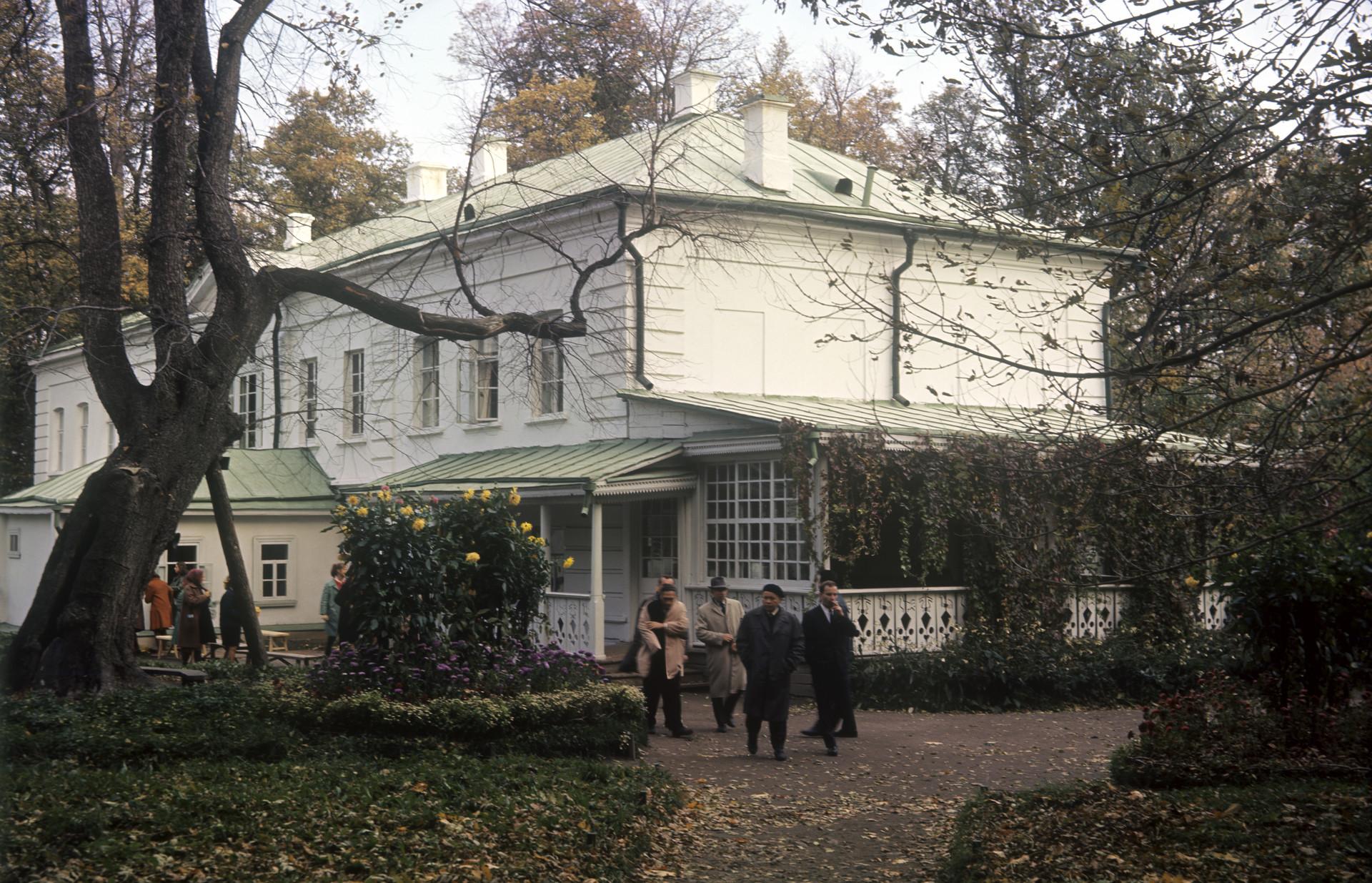 Hiša-muzej ruskega pisatelja Leva Tolstoja. Državni spominski in naravni rezervat
