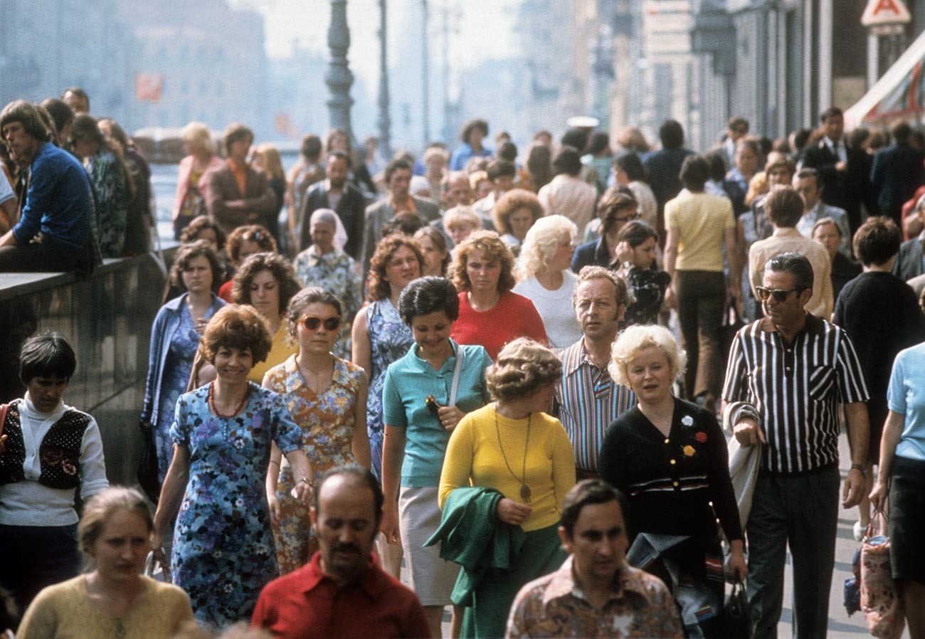 Nevsky Prospekt, St. Petersburg, 1980s