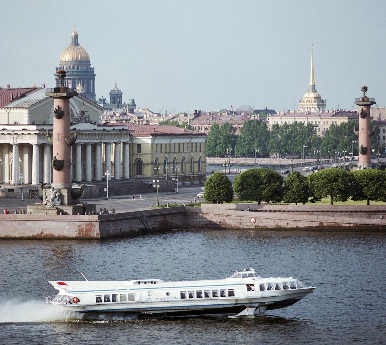 St. Petersburg in the 1980s