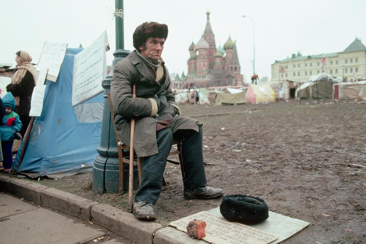 Moscou, 1990