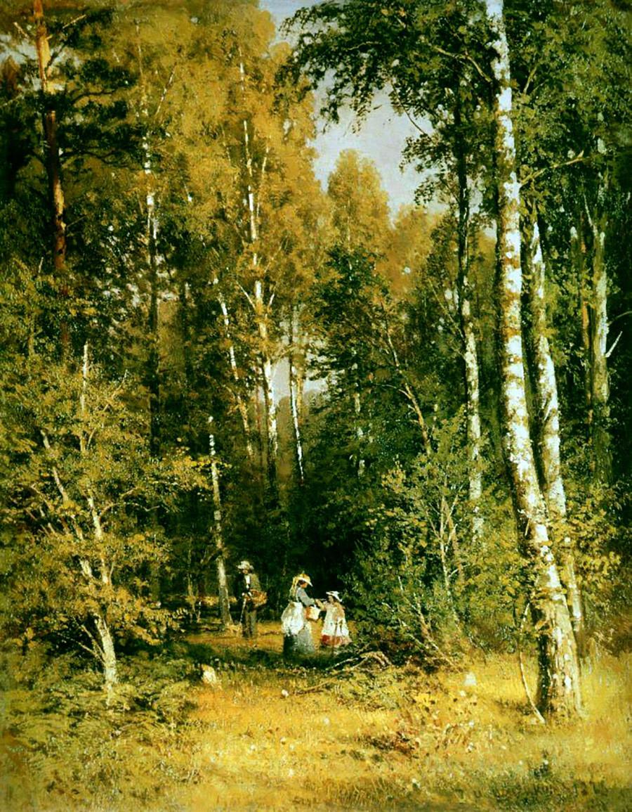 イワン・シーシキン 「白樺の森」 1878年