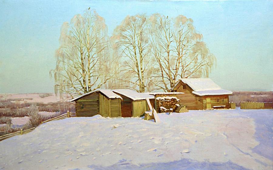 ニコライ・アノーヒン 「冬、酷寒と太陽」 1999年