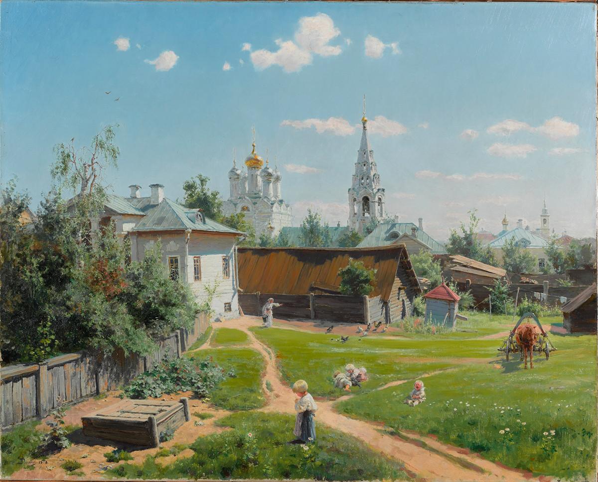 Une Cour à Moscou, 1878