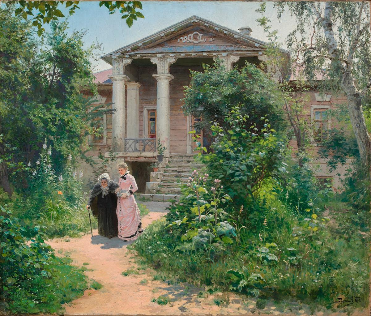 Le Jardin de grand-mère, 1878