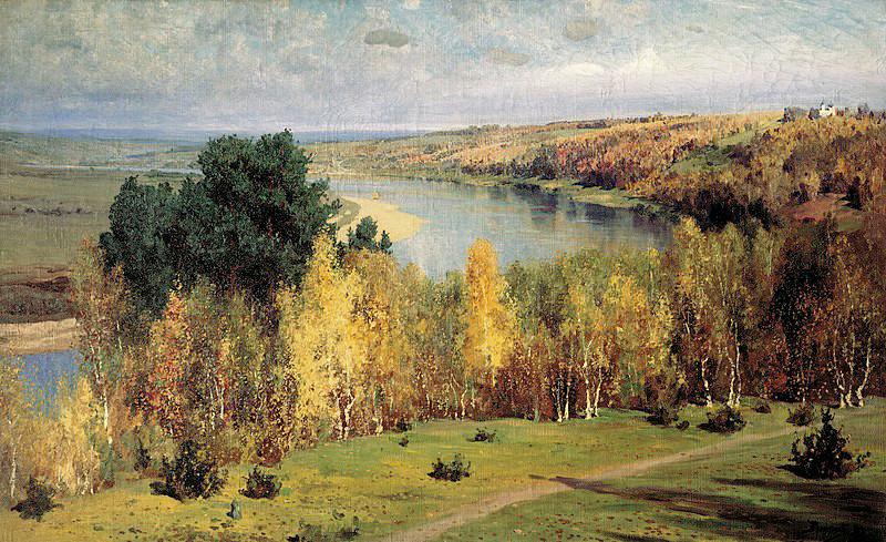 Automne doré, 1893
