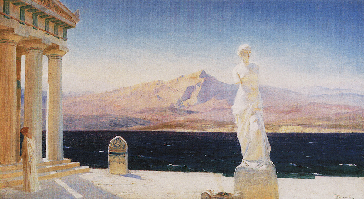 Les Fantômes d'Hellas, années 1890