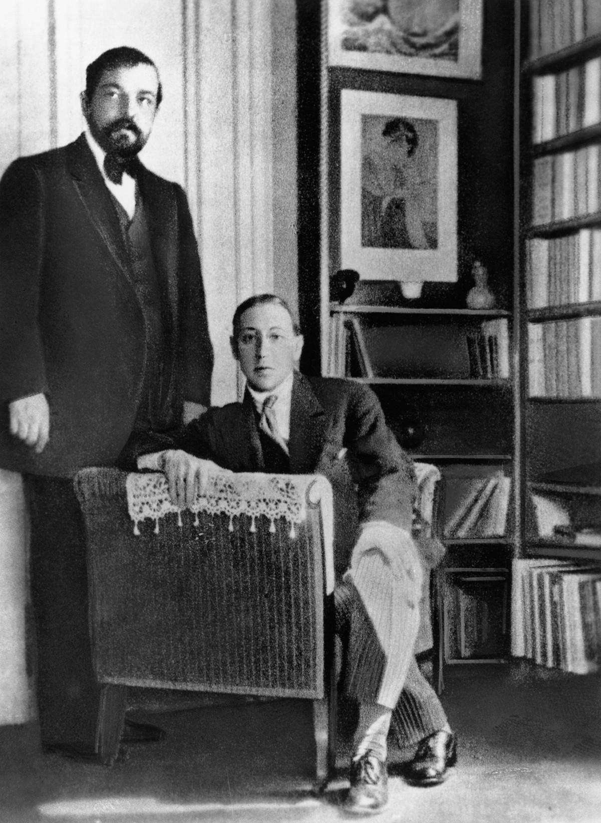 クロード・ドビュッシーとイーゴリ・ストラヴィンスキー