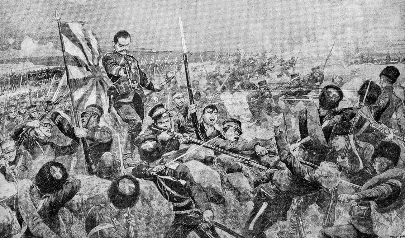 Japonci med napadom na rusko vojsko