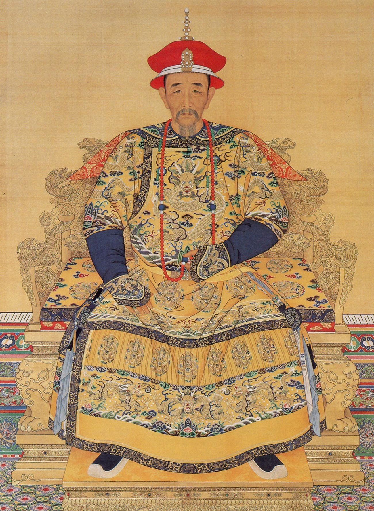 Kangxi Emperor, the fourth Emperor of the Qing dynasty.