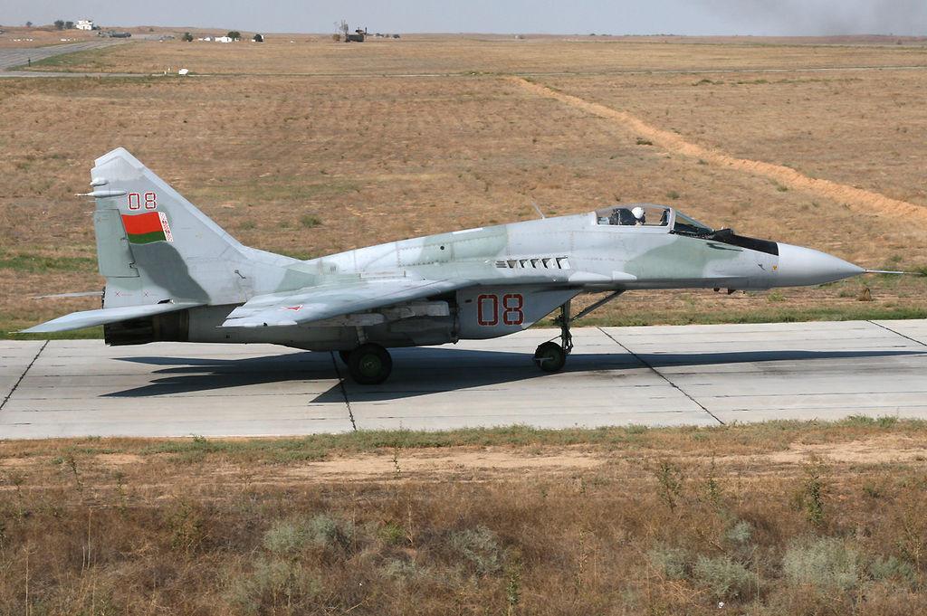 Caza MiG-29 bielorruso.