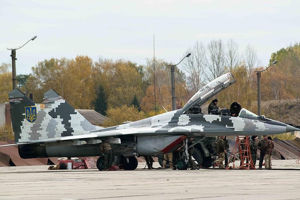 MiG 29 ucraniano.