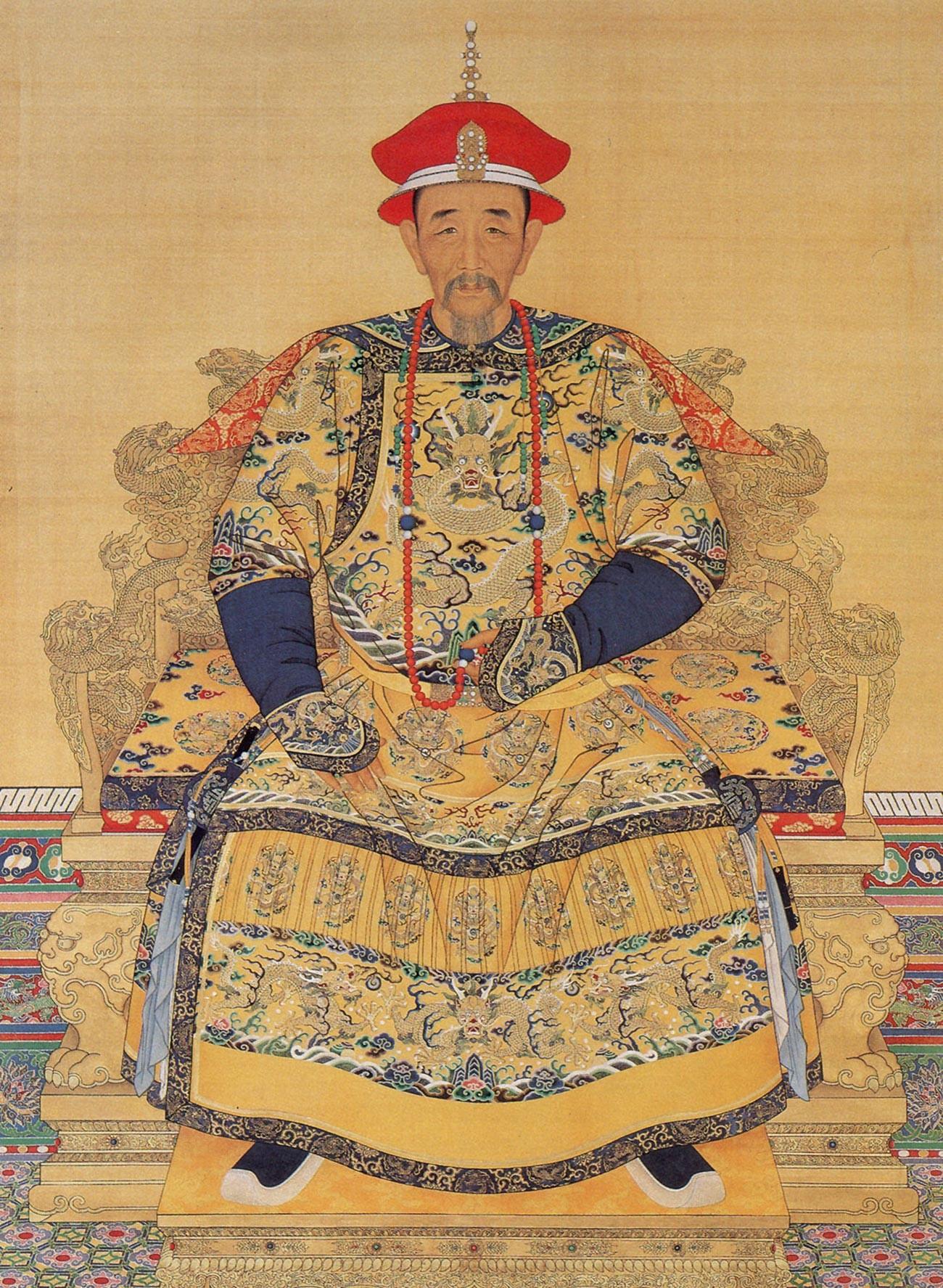 L'imperatore Kangxi della dinastia Qing