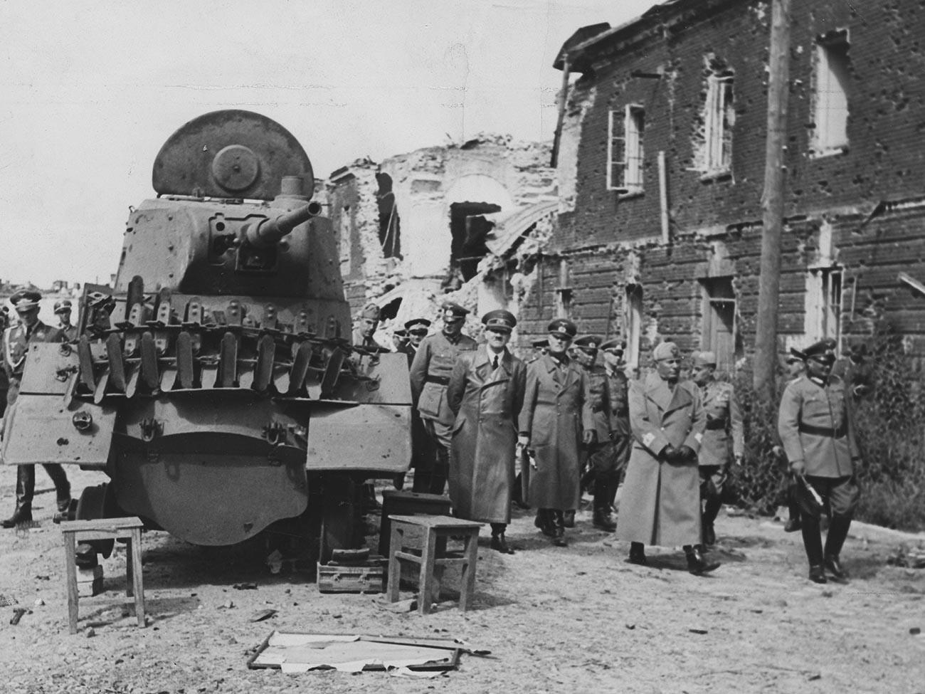 Hitler i Mussolini, Brest