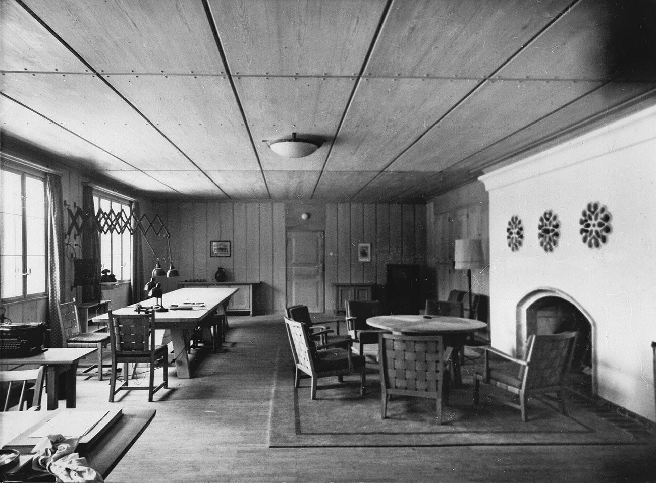 総統大本営ヴェアヴォルフの書斎