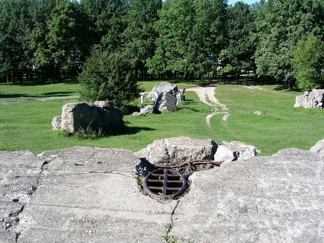 総統大本営ヴェアヴォルフの廃墟