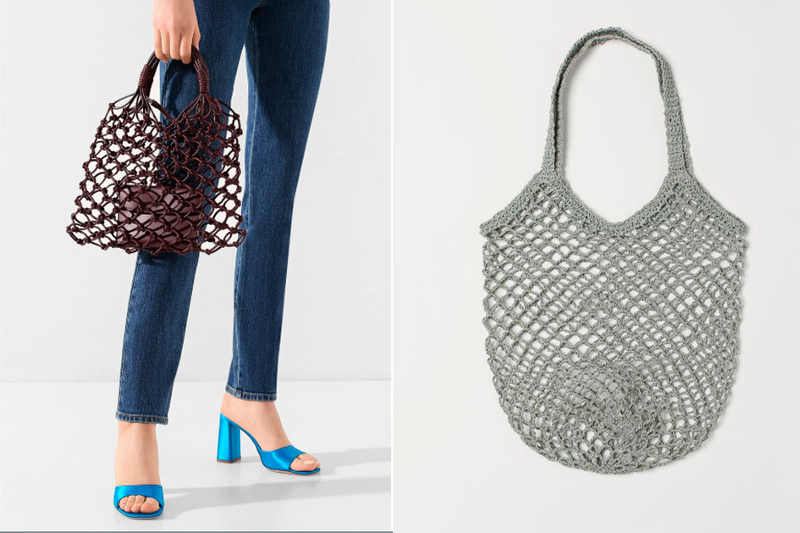 links: Awoska von Stella Mccartney; rechts - von H & M