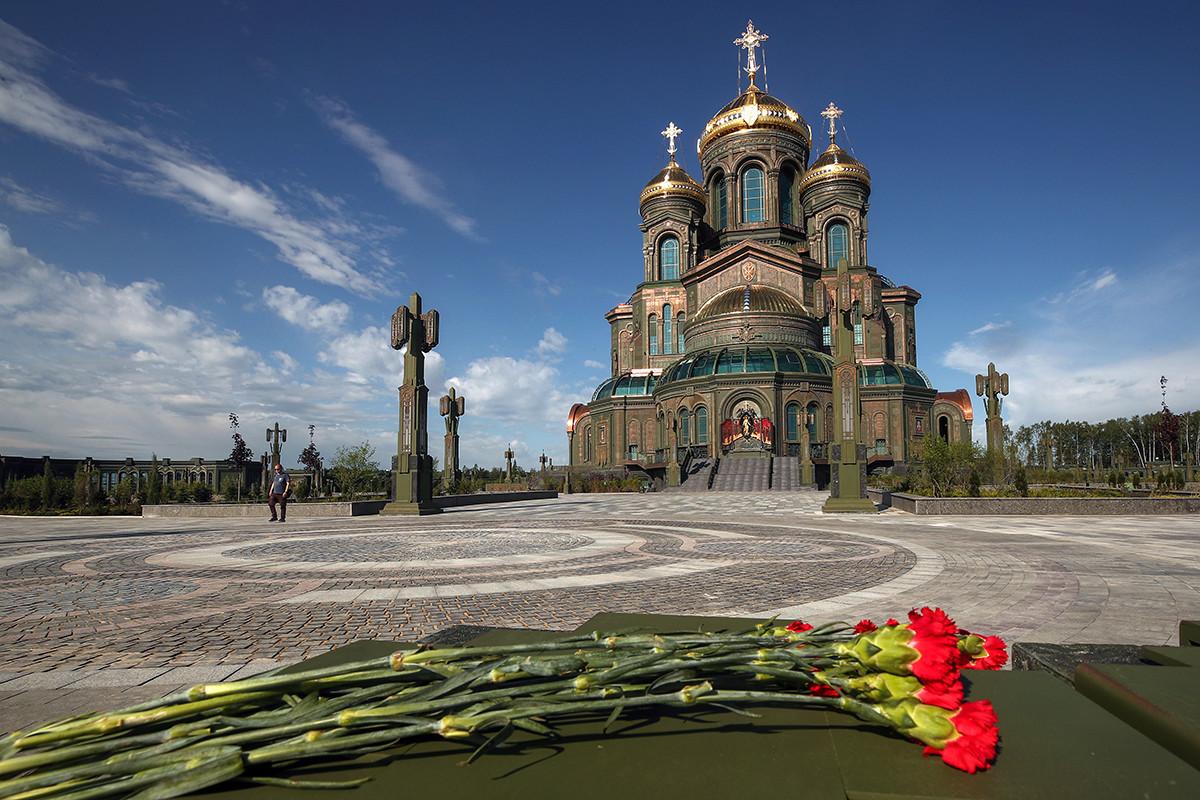 La cattedrale principale delle forze armate della Federazione Russa