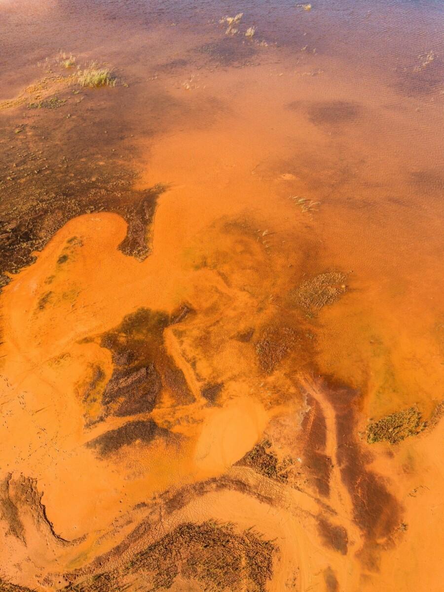 チュメニ市の第2熱併給発電所の工業用貯水池