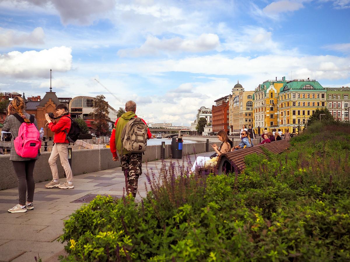 Krymskaya Embankment.