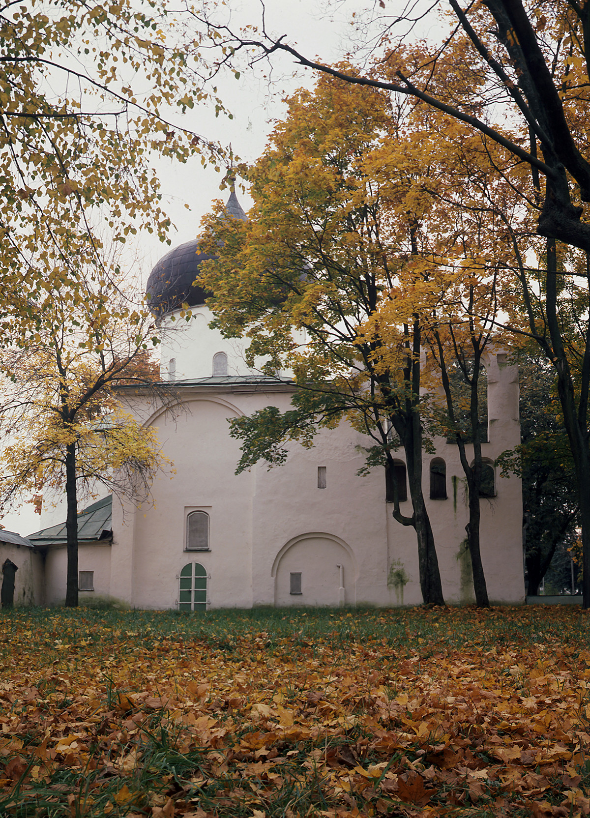Cathedral of the Transfiguration of the Savior in the Mirozhsky Monastery