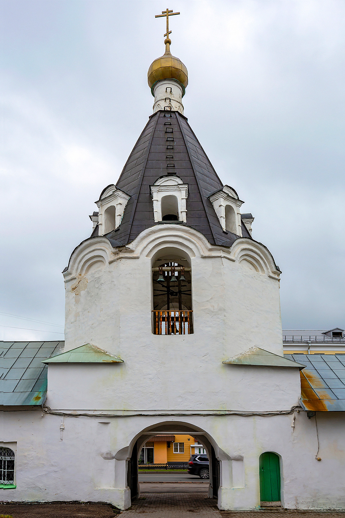 Church of the Archangel Michael with a bell tower